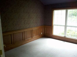 Mold Removal Portland, OR - After Mold Removal picture of study walls and floor results