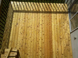 Mold Removal Portland, OR - After Mold Removal picture of exterior wood deck results