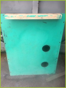 After dry ice blasting