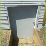Mold Removal Portland, OR - After rebuild services of exterior basement entry
