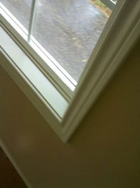 Mold Removal Portland, OR - After Mold Removal picture of interior wood window framing results